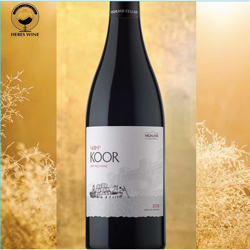 KOOR DRY RED WINE 2016